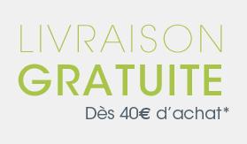Frais de port offert des 40€